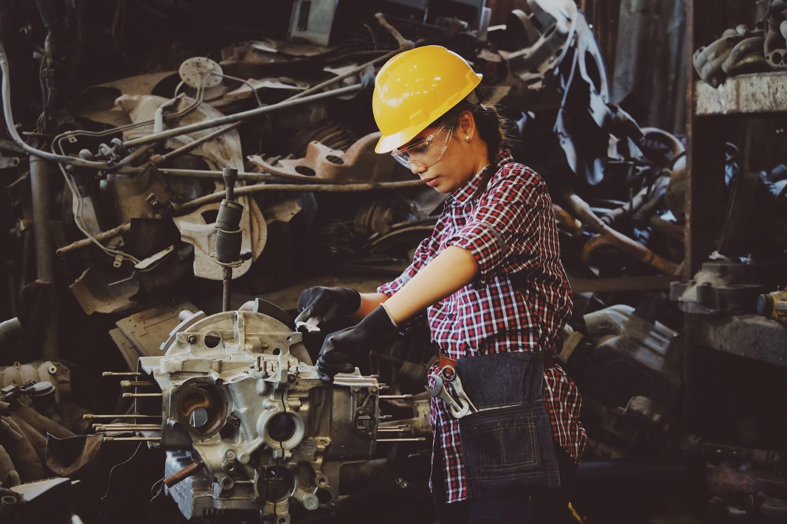 Factory Machinery is Operating at Its Full Potential