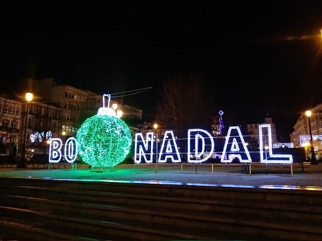 feliz Navidad Lugo