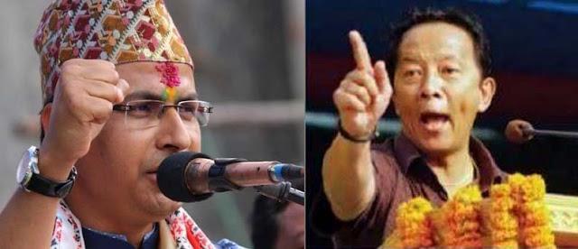 Darjeeling MP Raju Bista Vs Binay Tamang