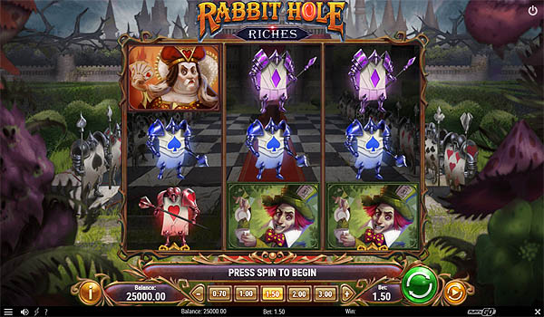 Main Gratis Slot Indonesia - Rabbit Hole Riches (Play N GO)
