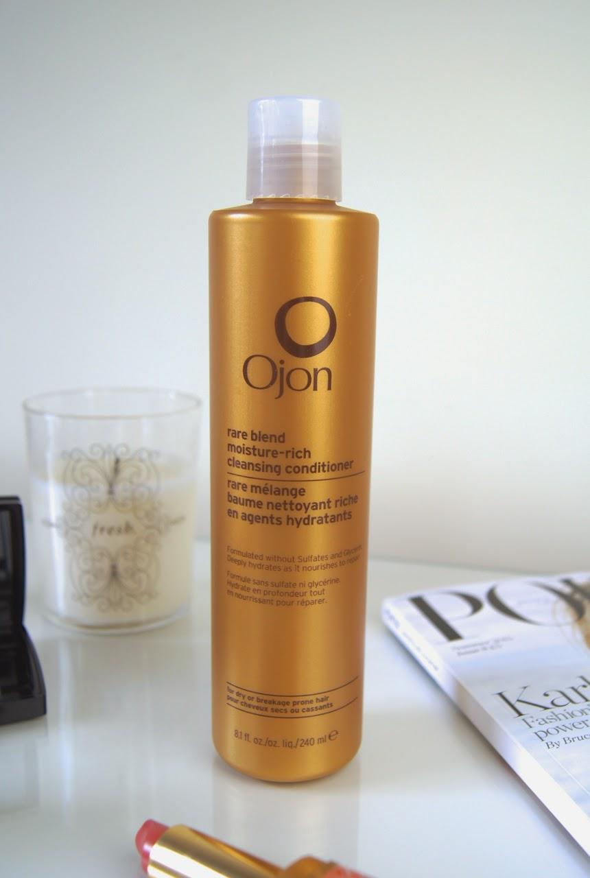 ojon rare blend moisture rich cleansing conditioner review