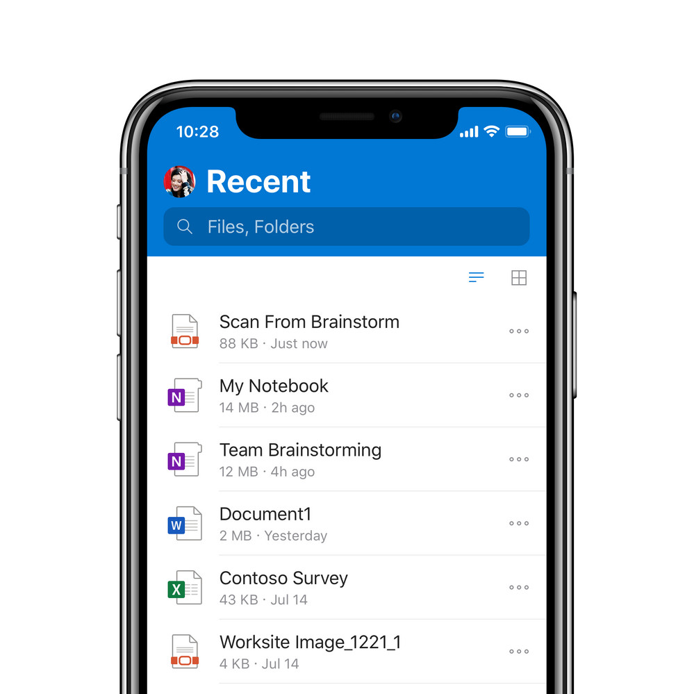 OneDrive for iOS gets a major revamp with improved design