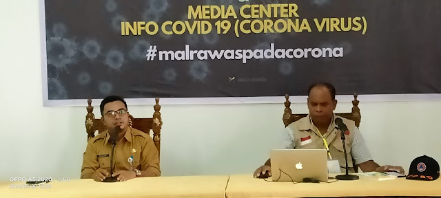 Ketua Tim Gugus Tugas Penanganan dan Pencegahan Covid -19 Maluku Tenggara Mohtar Ingratubun