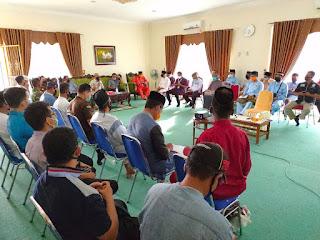 Gelar Rakor Bersama Forkopimda, Kebijakan Blocking Area Banjir Dukungan