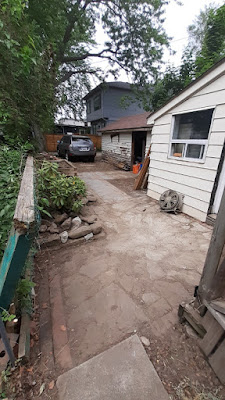 East York Backyard Summer Garden Cleanup After by Paul Jung Gardening Services--a Toronto Small Gardening Company