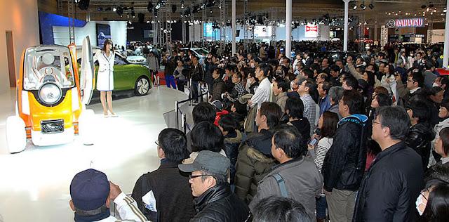 Nagoya Motor Show 2017 at Port Messe Nagoya, Aichi