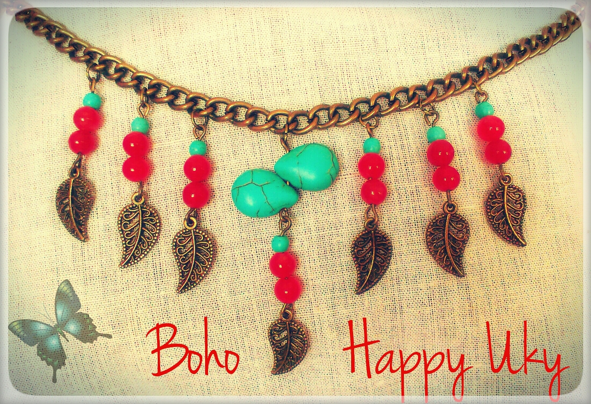 d0cf50d2b033 Collar Happy Uky Boho Chic Handmade Barcelona