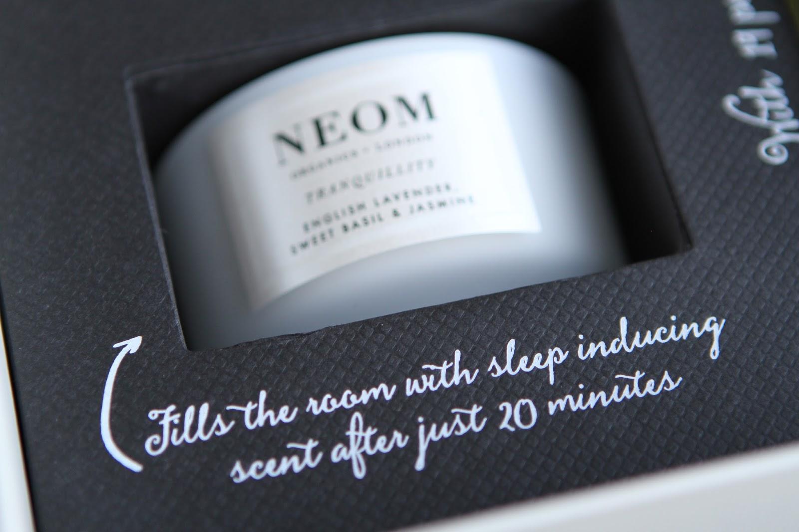 Neom tranquility sleep set