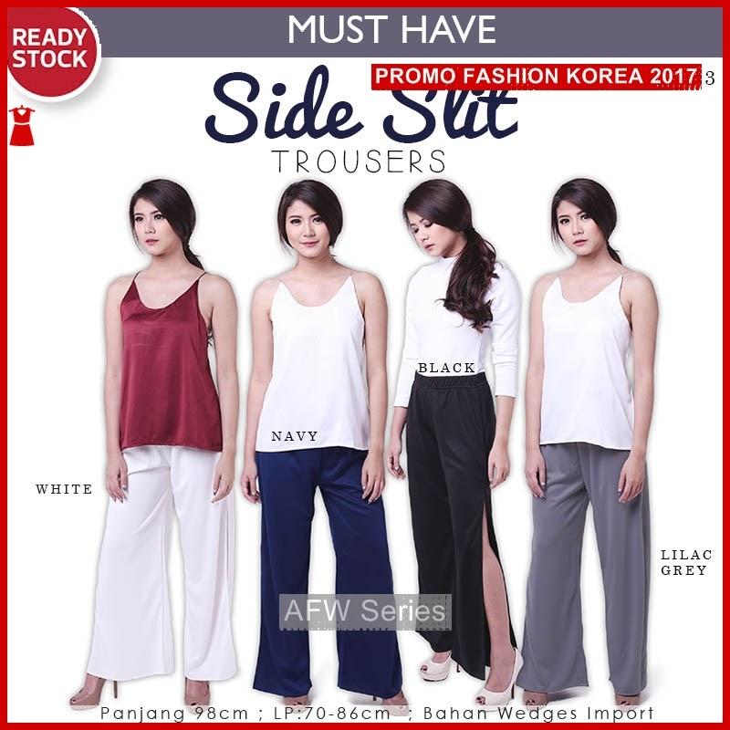 BAMFGW189 Side Trousers Celana Wanita PROMO BMG