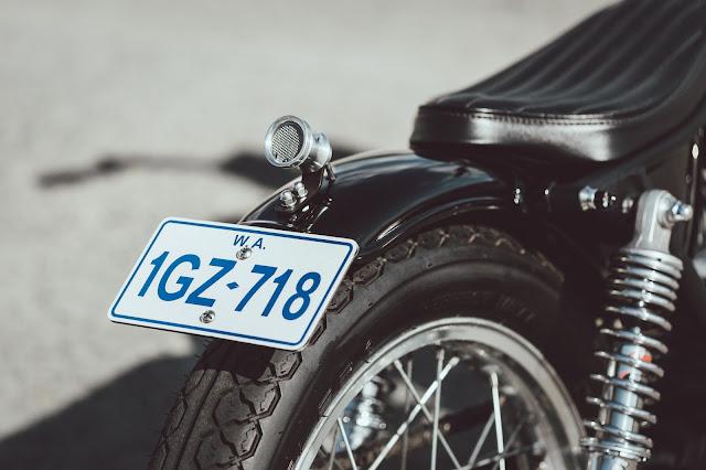 Yamaha SR500 By Iain Barraclough Hell Kustom