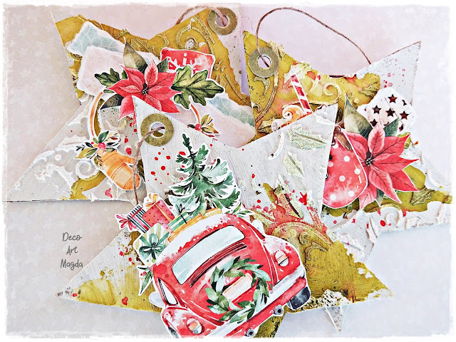 papier do scrapbookingu Christmas Treats
