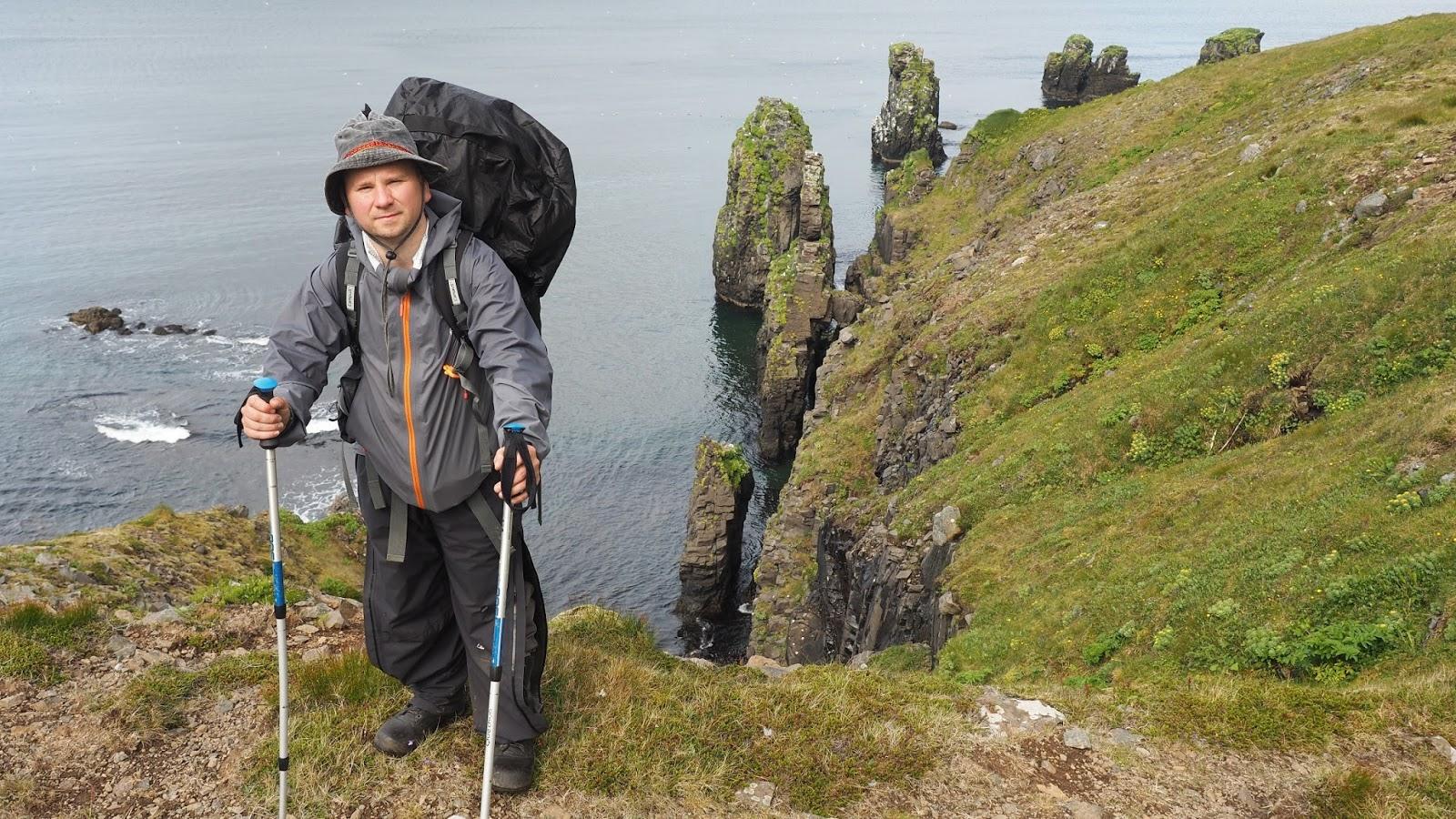 trekking na Islandii, trekking Hornstrandir, zwiedzanie Islandii