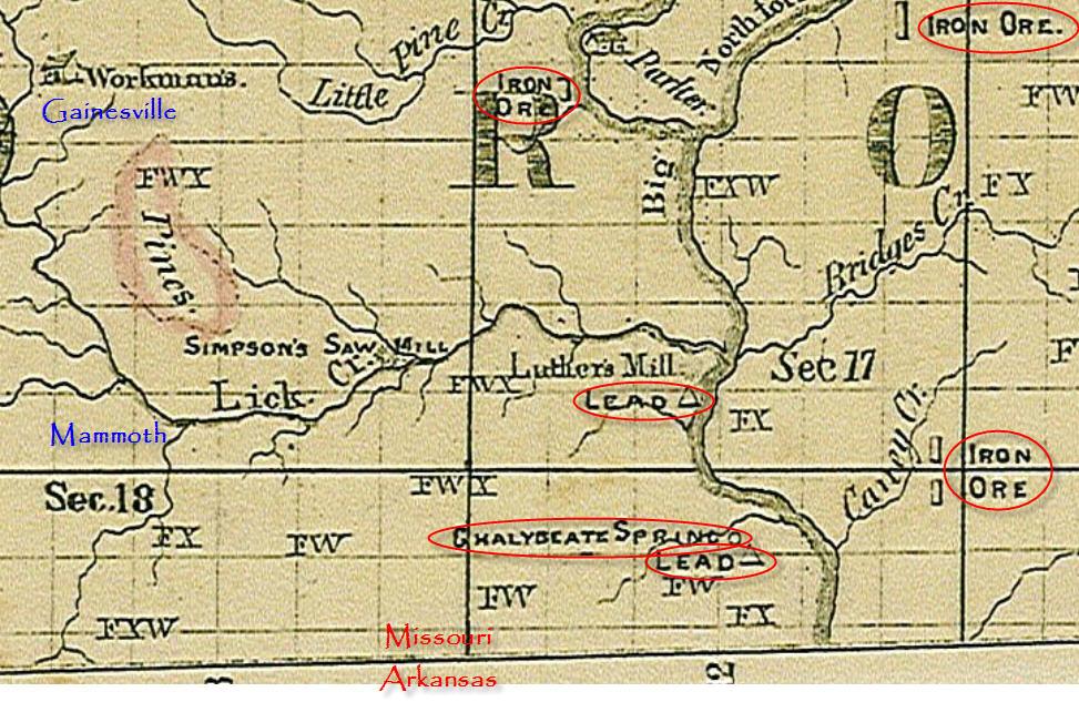 Ozarks History Mining in Ozark County Missouri