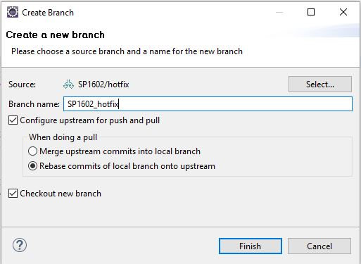 Multiple Remote Git Repositories and Branches in Eclipse