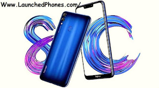 This telephone is launched amongst the notch pattern Huawei Honor 8c is launched amongst the notch