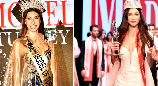 Selection of 16-year-old Ceyda Toyran as Miss Model after 15th Best Model created controversy