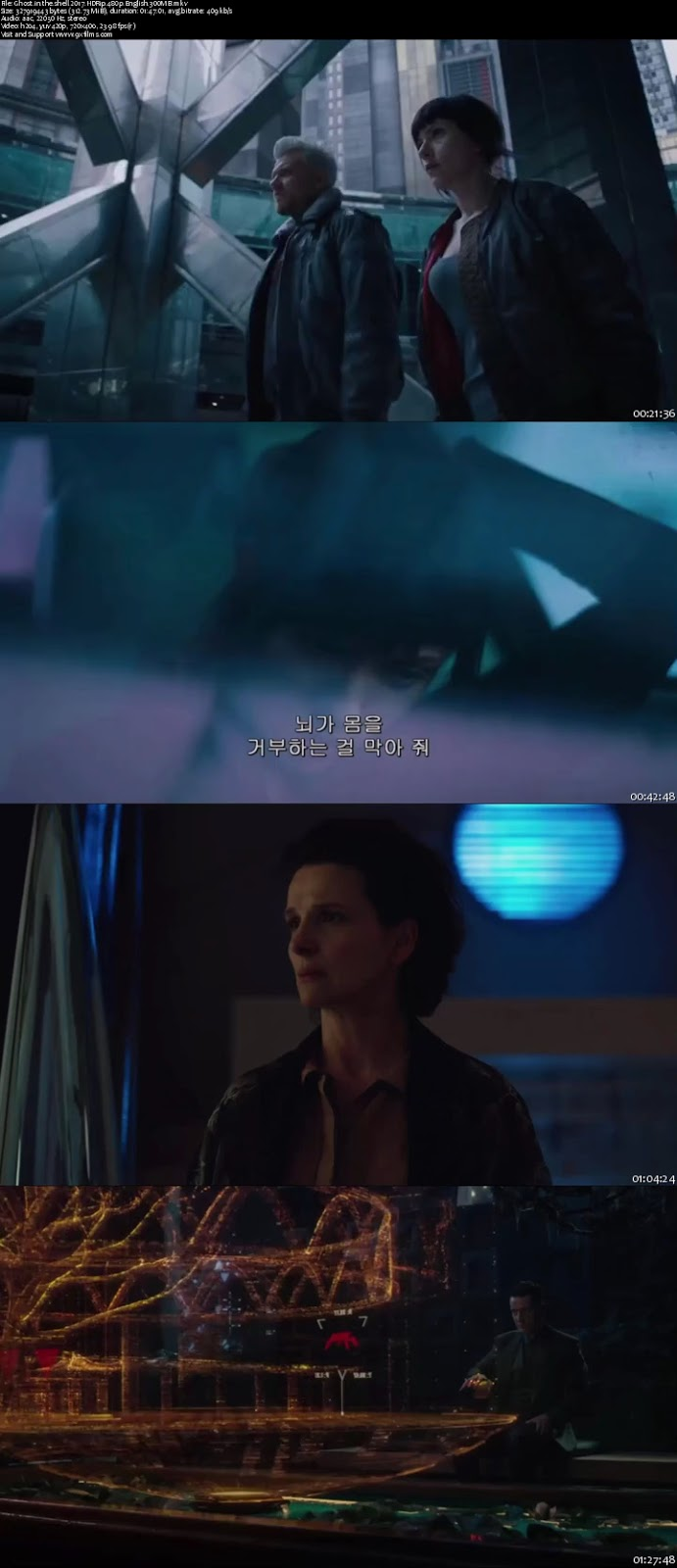 Ghost In The Shell 2017 HDRip 480p English