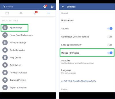 Cara Upload Foto Facebook Kualitas Tinggi