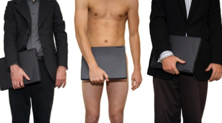 Ten reasons to go to work naked..actually 11...