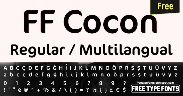 Cocon bold: download for free, view sample text, rating and more.