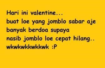 kata kata valentine lucu