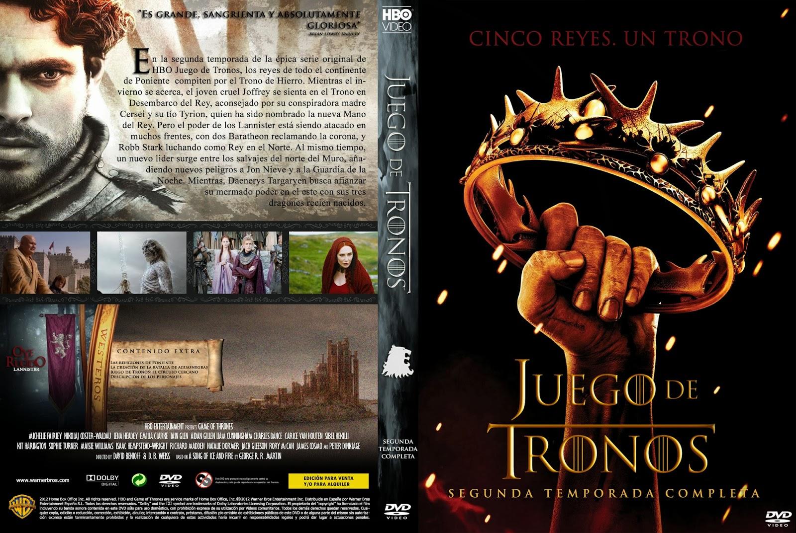 Serie ] [ AVI ] Juego de tronos Segunda Temporada Latino 1 Link ...