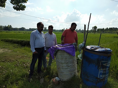 Dr Ashok Kumar Meet With Farmers For Organic Farming Uttar Pradesh