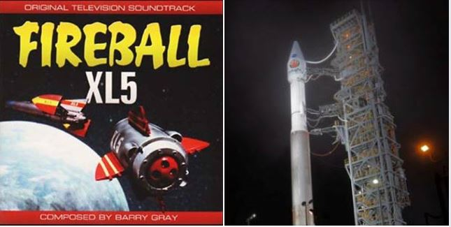 MARS LANDING NOVEMBER 2018 'PREDICTED' IN LYRICS OF SONG FIREBALL XL5