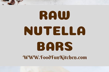 RAW NUTELLA BARS