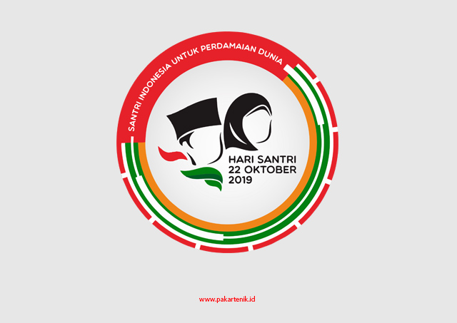 Download Logo Hari Santri Format CDR AI dan PNG