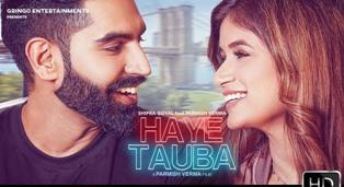 Haye Tauba Lyrics - Shipra Goyal Ft. Parmish Verma