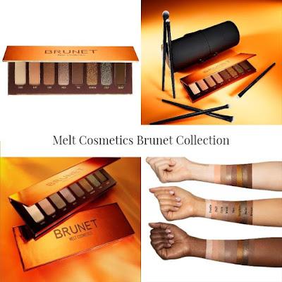 Melt Cosmetics new  Brunet Collection