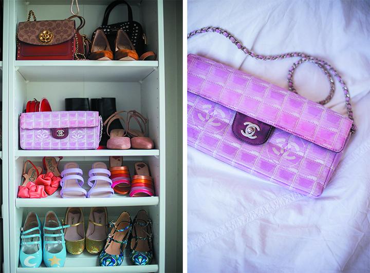 Comment trouver un sac Chanel à petit prix sur Vestiaire Collective - East West Chocolate Bar en toile imprimée