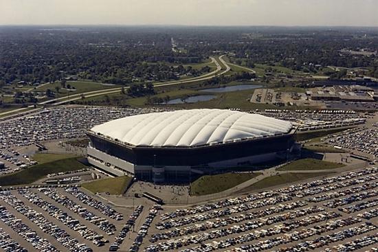 Antigo estádioPontiac Silverdrome