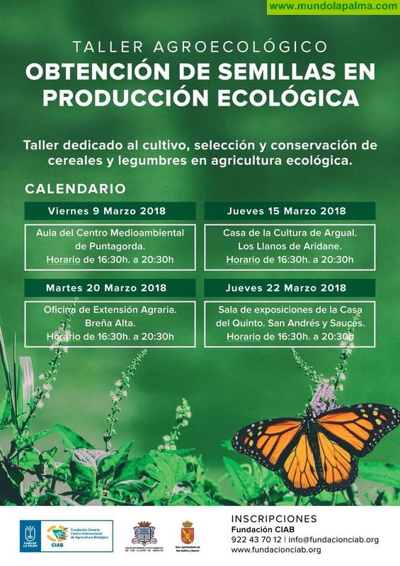 El Cabildo y la Fundación CIAB organizan un taller sobre la obtención de semillas en la producción ecológica