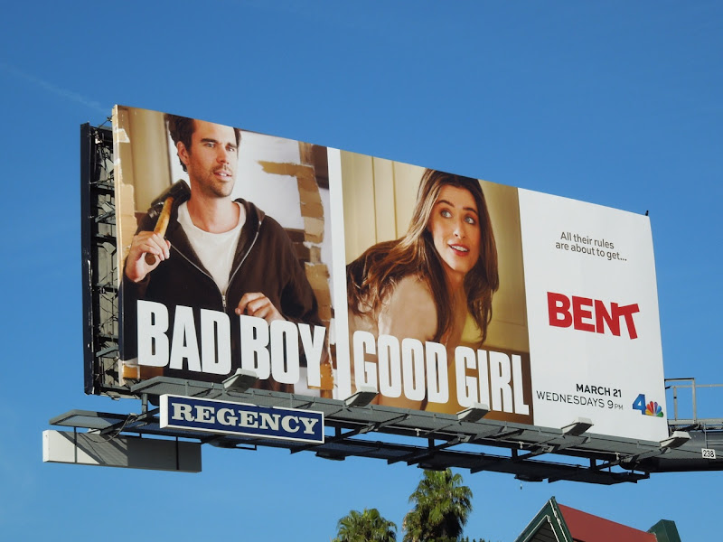 Bent series premiere billboard