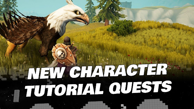 ARCFALL (Hour 1) • New Character, Tutorial Quests and Starting Area!