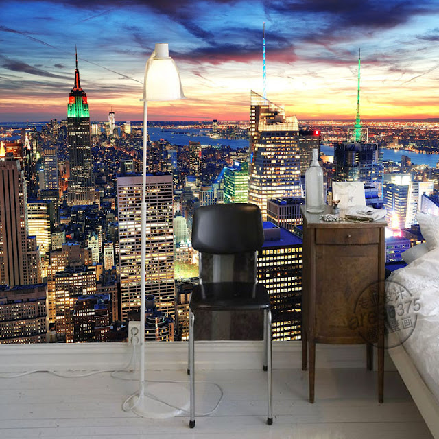 Photo Wallpaper for Bedroom Wall Murals New York