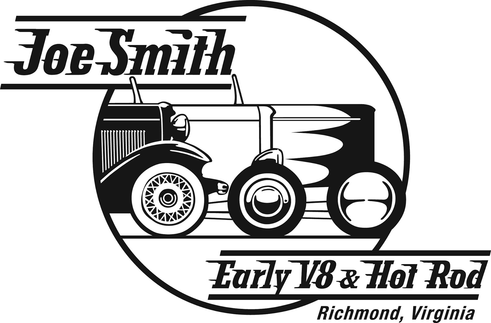 Joe Smith Early V8 Amp Hot Rod