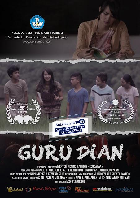 Film Guru Dian Diperankan Ryan Putri Moka Cianjur