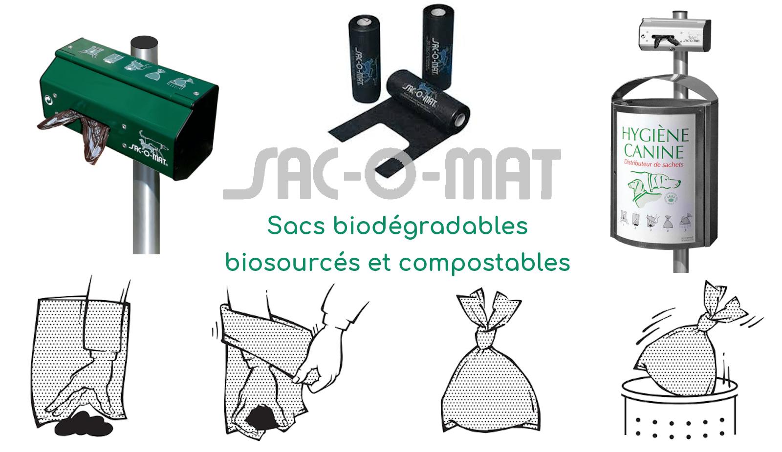 Sacs Déjections canines biodégradables - Tourcoing