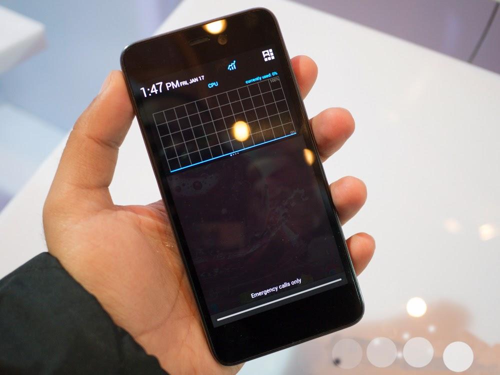 Information Lava Iris pro 30+ Dual SIM with 4 7-inch HD display