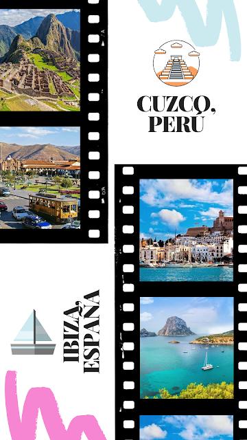 Cuzco, Perú e Ibiza, España