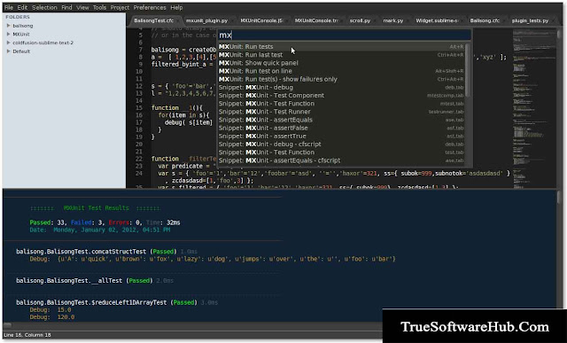 Sublime Text Editor Free Download- True Software Hub