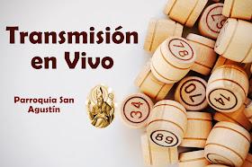 Bingo Parroquia San Agustín  mes de mayo del 2021
