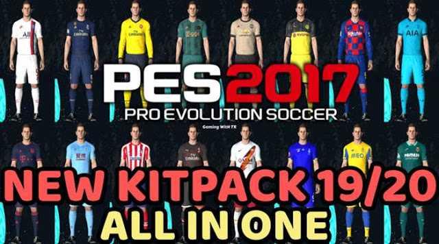 PES 2017 Mega Kitpack Season 2019/20 by TR