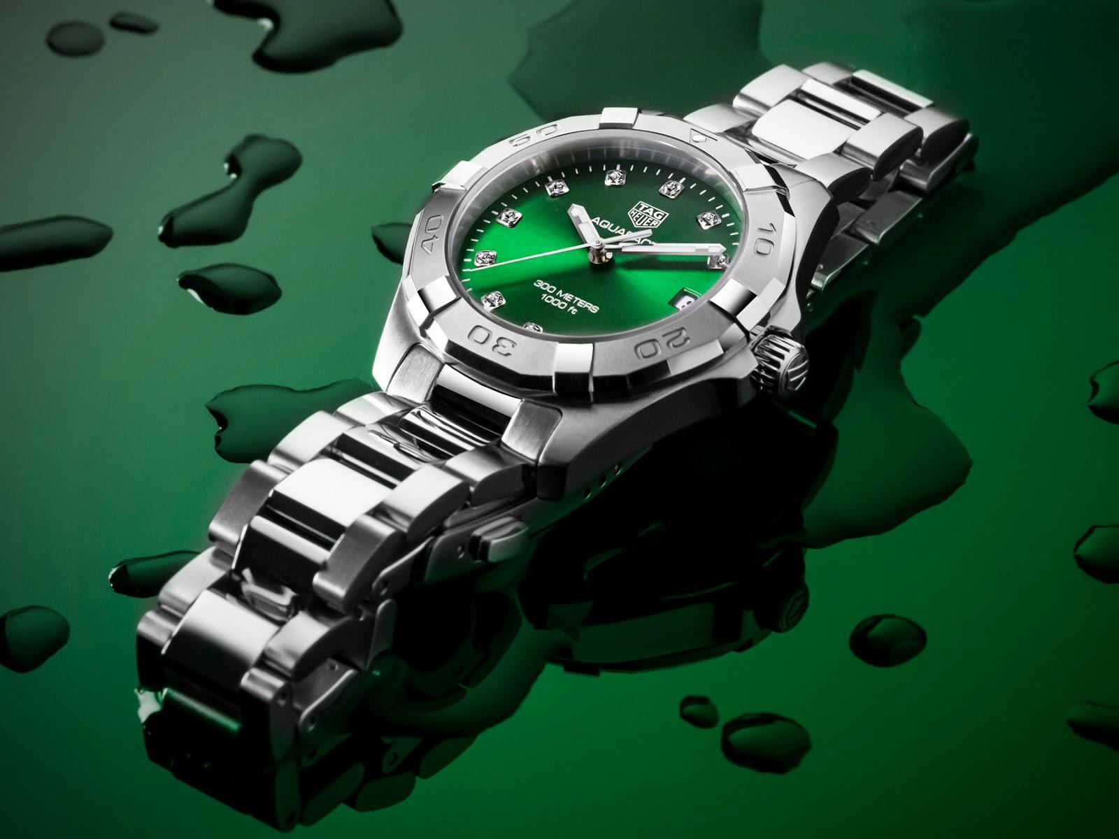 Tag Heuer's new Emerald Green Aquaracers TAG+Heuer+Aquracer+EMERALD+06