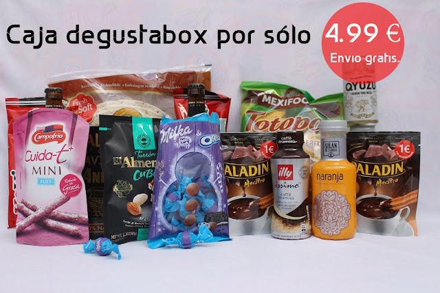 contenido caja degustabox navidad