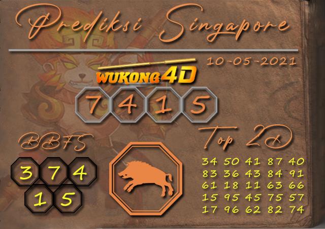 PREDIKSI TOGEL SINGAPORE WUKONG4D 10 MEI 2021