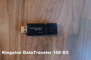 Kingston DataTraveler 100 G3 64GB tested